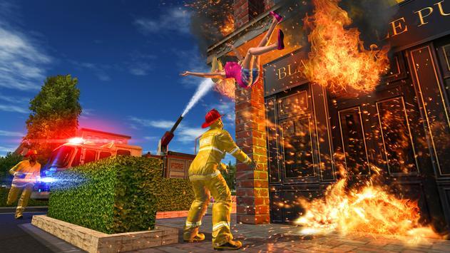 Fire Truck Game screenshot 4
