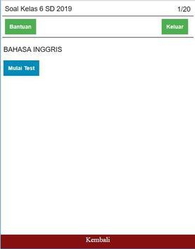 Soal Bahasa Inggris Kelas 6 SD Lengkap screenshot 4