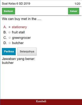 Soal Bahasa Inggris Kelas 6 SD Lengkap screenshot 2