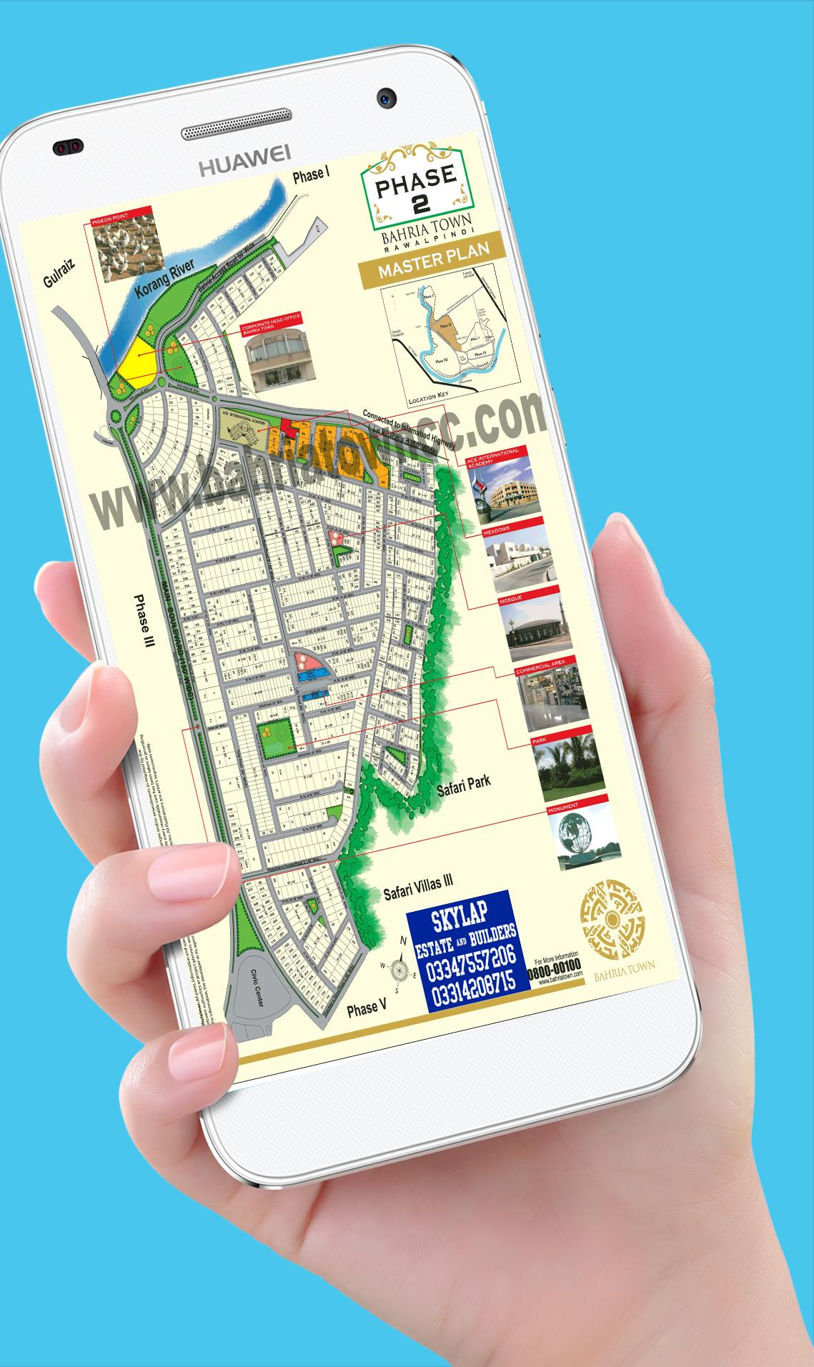 Bahria Town Maps Rawalpindi for Android - APK Download