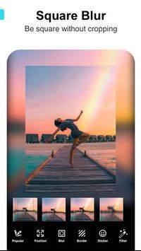 Square Fit Size -Photo Editor &Photo Collage Maker تصوير الشاشة 1