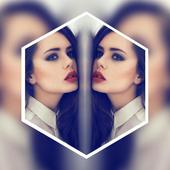 Photo Editor Pro,MirrorApp Collage Maker-MirrorPic simgesi