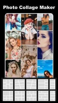 Photo Collage Maker - Pic Grid Layout Photo Editor الملصق