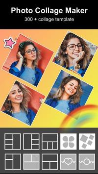 Photo Collage Maker - Pic Grid Layout Photo Editor تصوير الشاشة 1