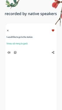 Romanian Phrases screenshot 2