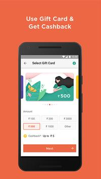 Mobile Recharge, Wallet, Gift Card, Balance Check poster