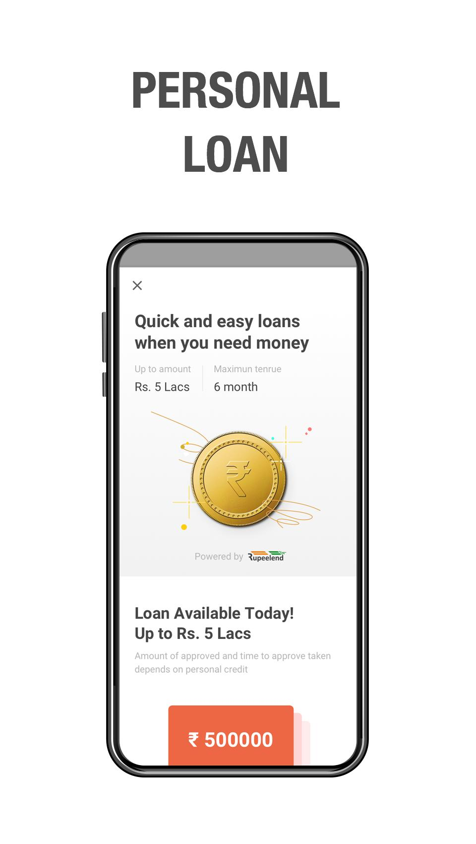 Earn Money by Recharge, Loan, Payment and Resell for Android