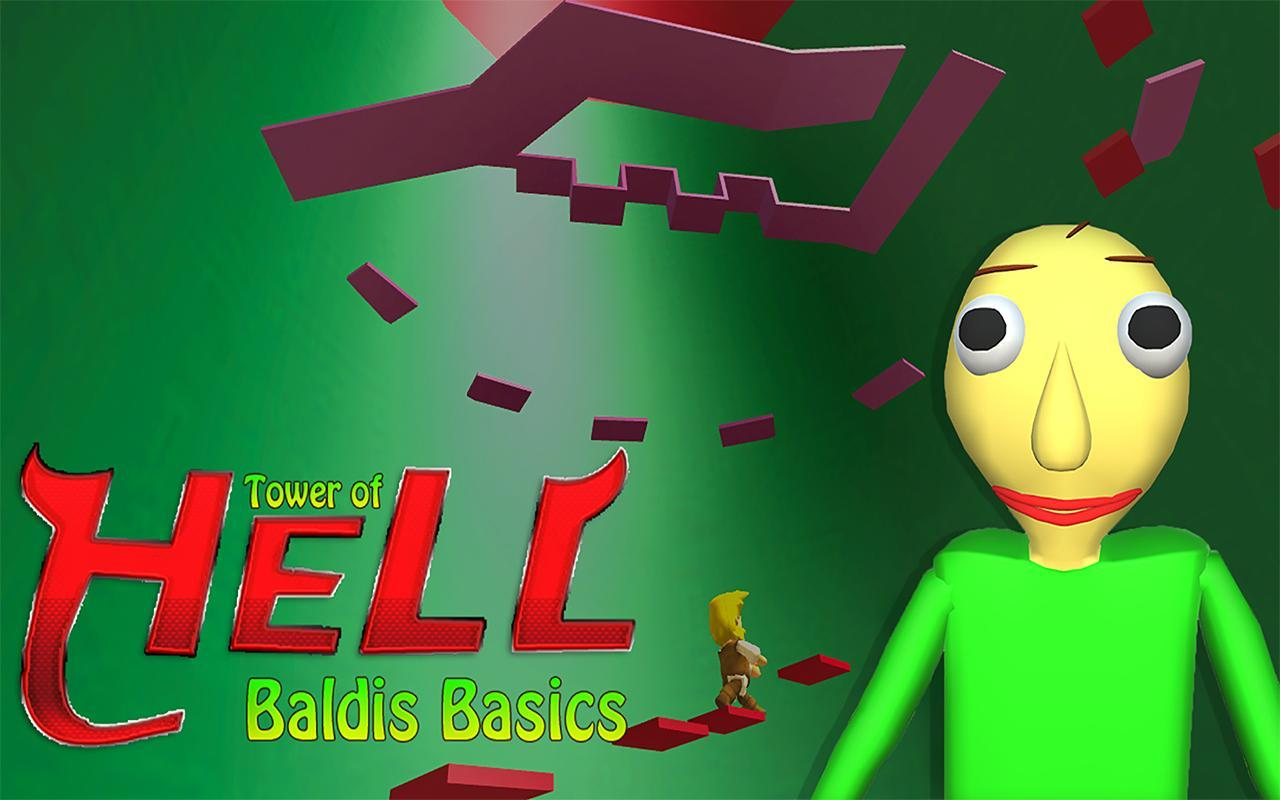 Android Hell Is A Real Place Roblox Baldi Classic Tower Of Hell Climb Adventure Game For Android Apk Download