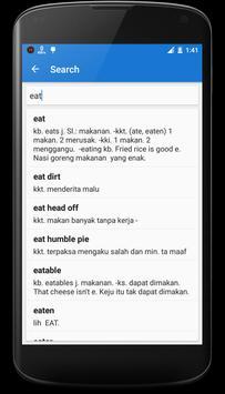 English - Indonesian Dictionary screenshot 5