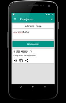 Kamus Bahasa Korea Offline screenshot 3