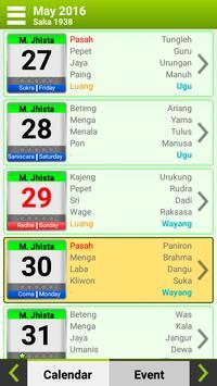 Kalender Bali screenshot 5