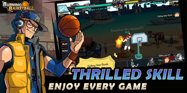 Burning Basketball screenshot 1