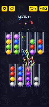 Ball Sort Puzzle 2021 स्क्रीनशॉट 1