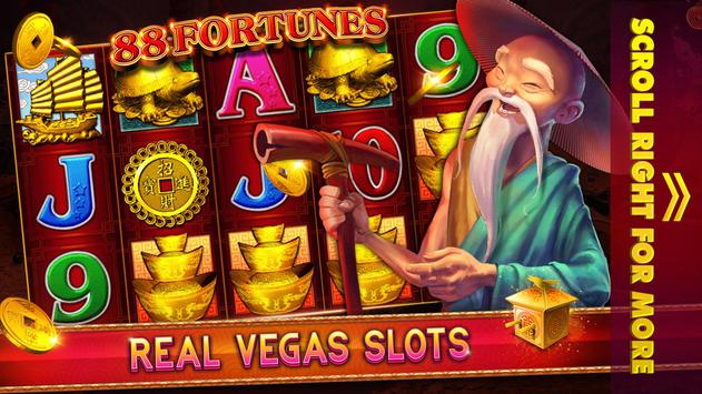 Free Slots: 88 Fortunes - Vegas Casino Slot Games! screenshot 1