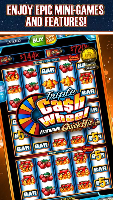 Quick Hit Slot Games