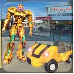 Robot Shopping Mall Taxi Driver APK