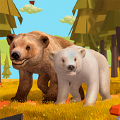 Wild Bear Family Simulator icon