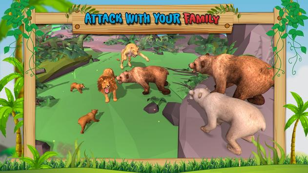 Wild Bear Family Simulator screenshot 1