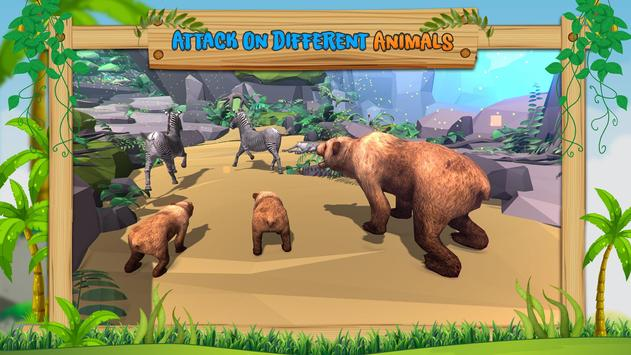 Wild Bear Family Simulator screenshot 2