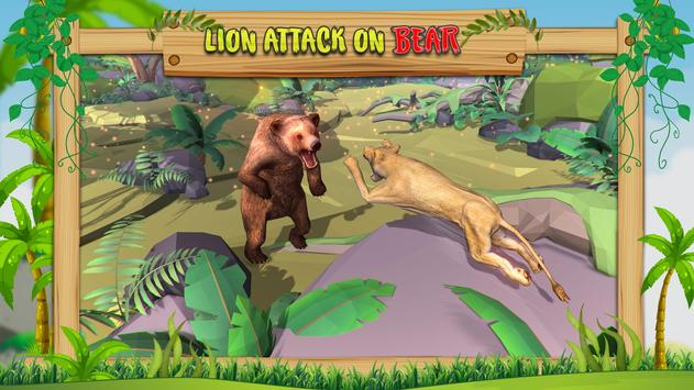Wild Bear Family Simulator screenshot 4