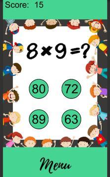 Multiplication Tables screenshot 11