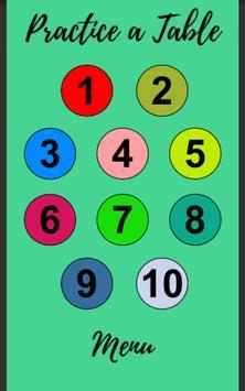 Multiplication Tables screenshot 8