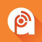 Podcast & Radio Addict Zeichen