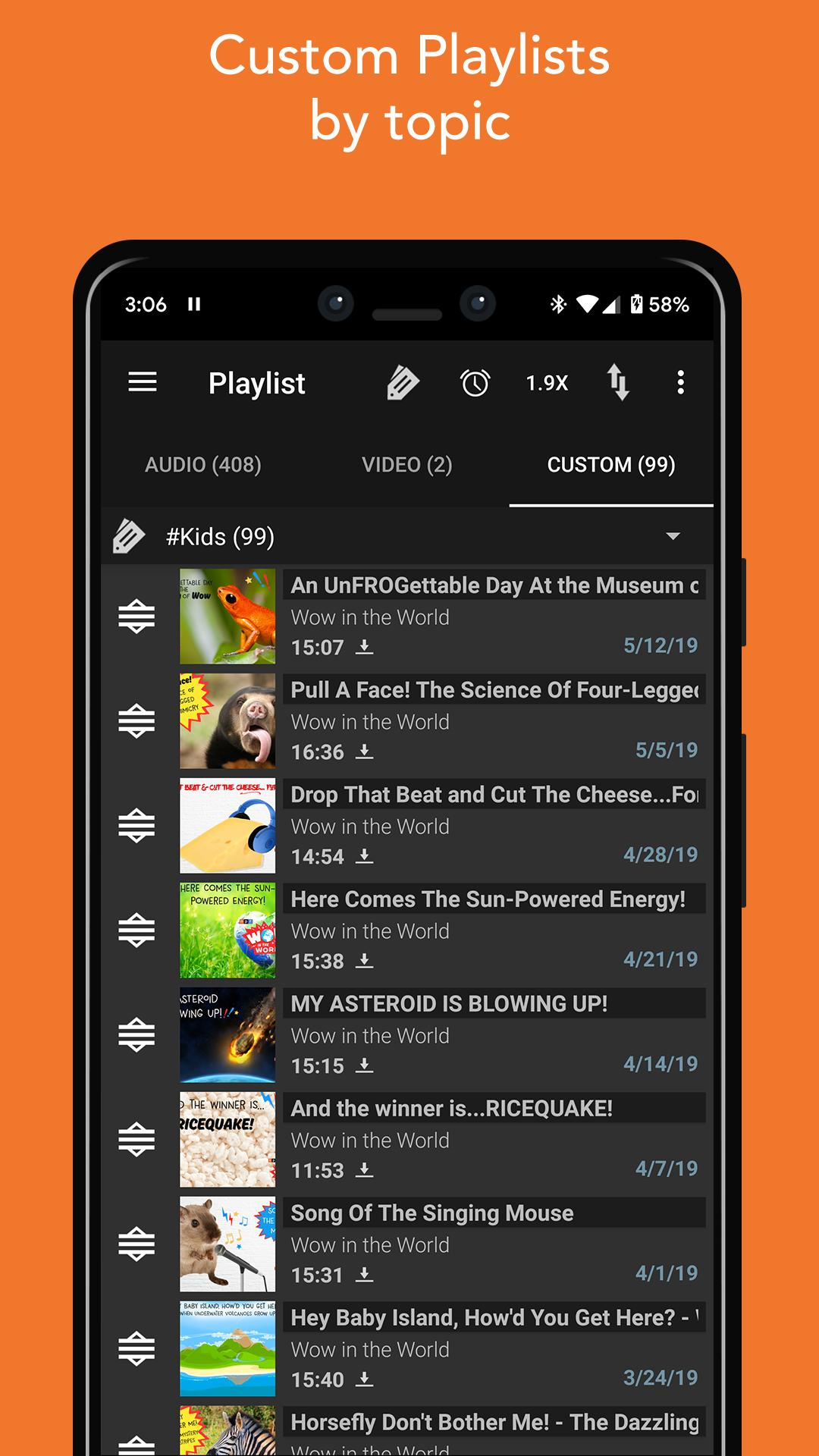 Podcast Addict for Android - APK Download