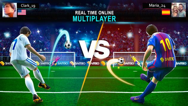 Shoot Goal ⚽️ Football Stars Soccer Games 2019 screenshot 4
