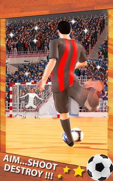 Shoot Goal - Futsal Indoor Soccer poster