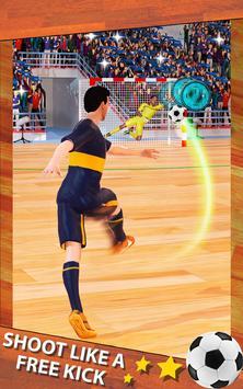 Shoot Goal - Futsal Indoor Soccer screenshot 2