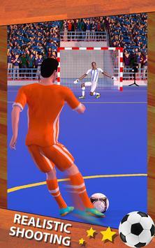 Shoot Goal - Futsal Indoor Soccer screenshot 8