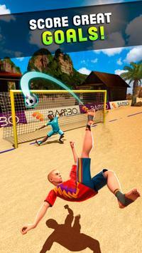 Shoot Goal - Beach Soccer Game screenshot 2