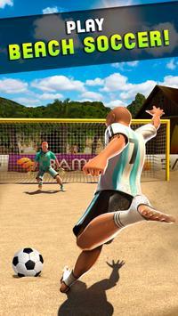 Shoot Goal - Beach Soccer Game screenshot 3
