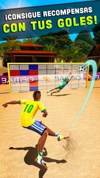 Dispara y Gol - Juego de Fútbol Playa captura de pantalla 11
