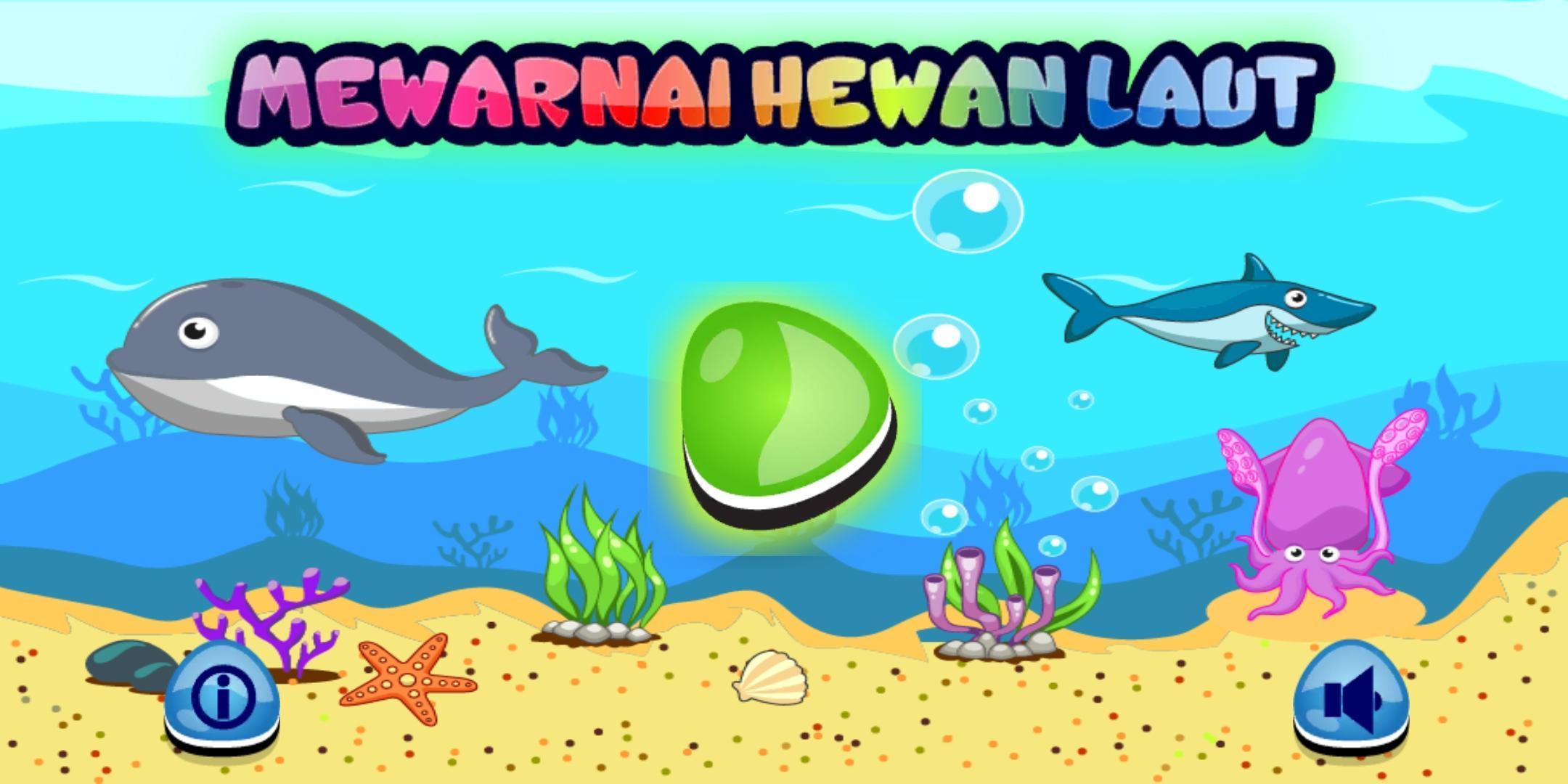 Mewarnai Hewan Laut Pour Android Téléchargez L APK
