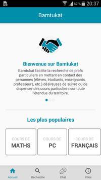 Bamtukat, Cours particuliers - Soutien scolaire poster