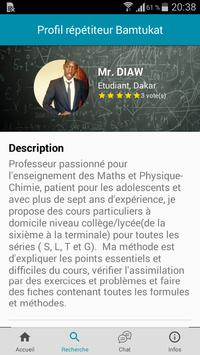 Bamtukat, Cours particuliers - Soutien scolaire screenshot 2