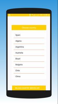 Brazil VPN - Proxy Master screenshot 1