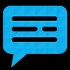 Mesajlaşma SMS'i simgesi