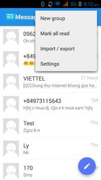 Messaging SMS screenshot 5