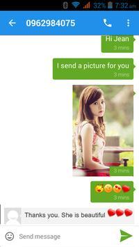 Messaging SMS screenshot 1
