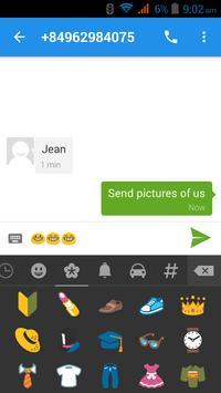 मैसेजिंग - एसएमएस स्क्रीनशॉट 11