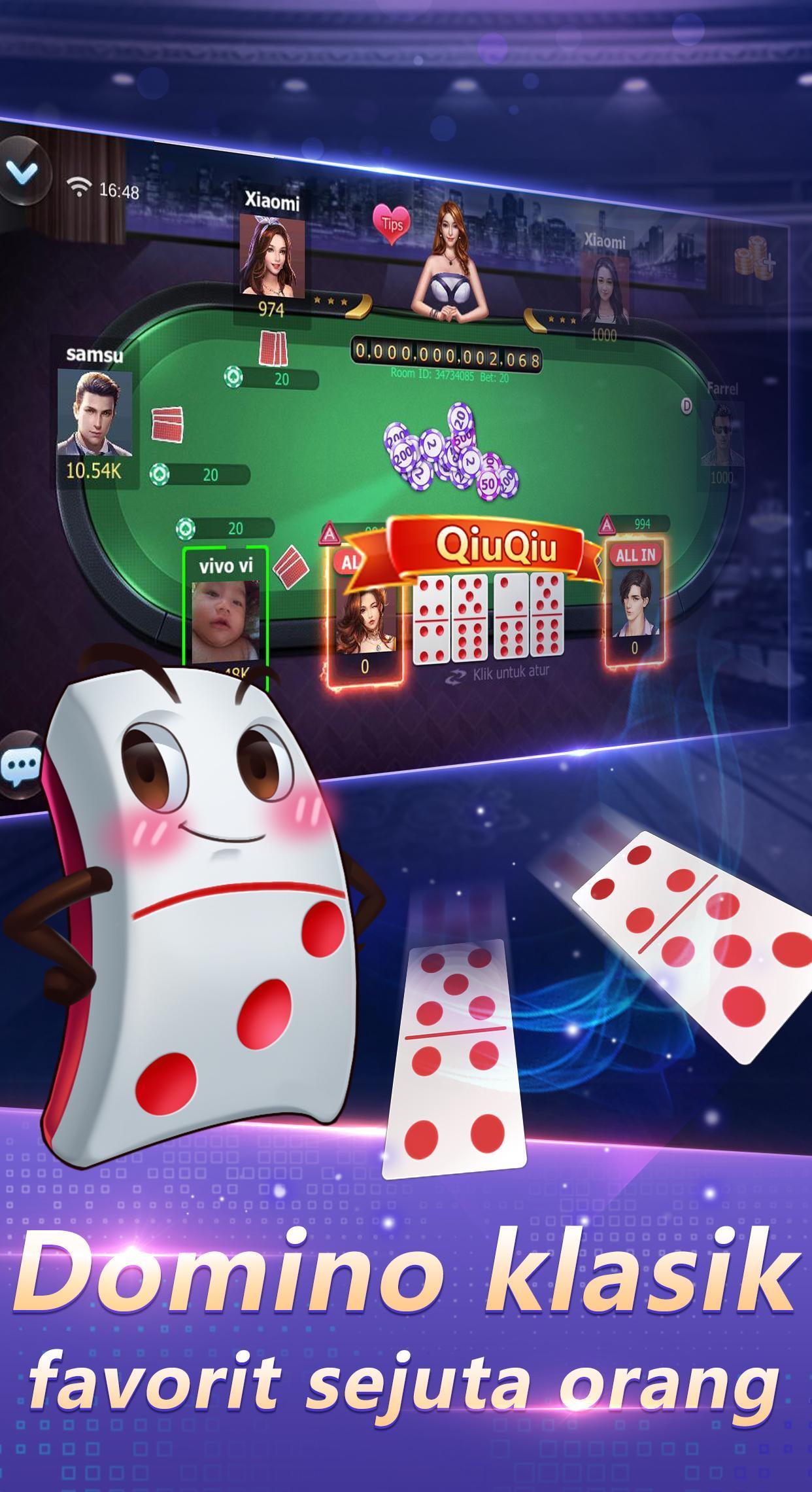 Domino Qq Domino 99 Capsa Susun Sic Bo For Android Apk Download