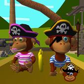 Pirate Monkey Run! icon