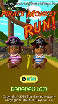 Pirate Monkey Run! poster