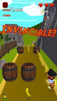 Pirate Monkey Run! screenshot 1