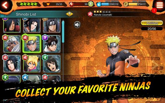 NARUTO X BORUTO NINJA VOLTAGE captura de pantalla 13