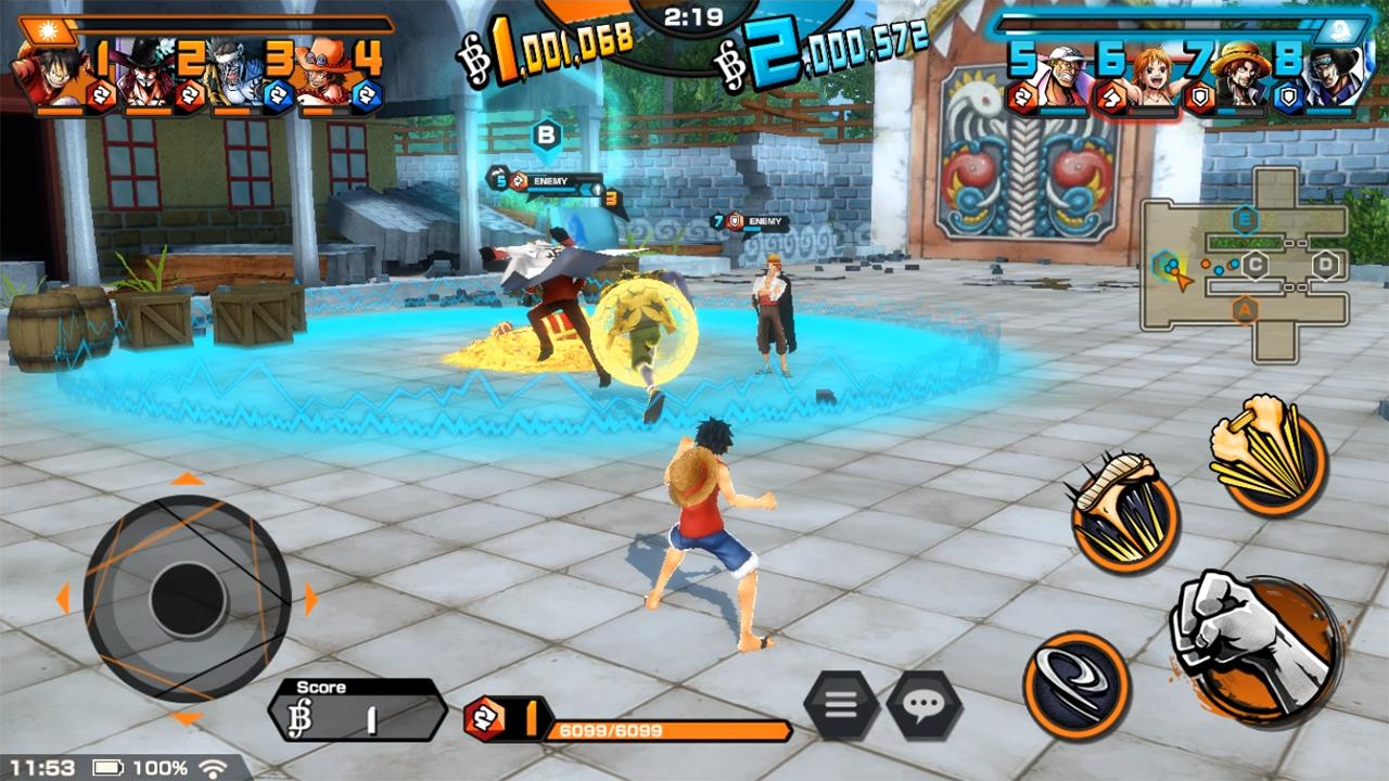 One Piece Bounty Rush For Android Apk Download