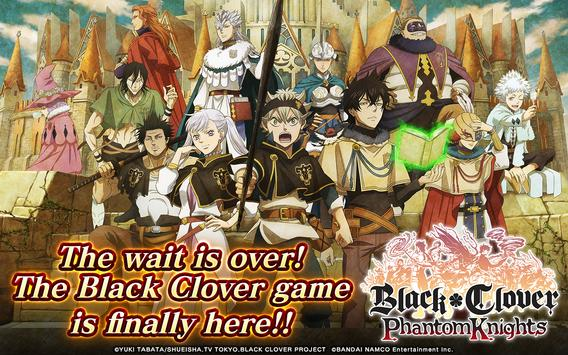 Black Clover Phantom Knights